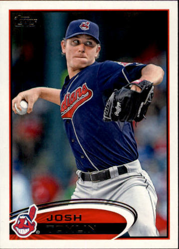 Photo of 2012 Topps #583 Josh Tomlin