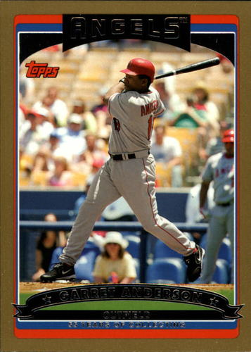 Photo of 2006 Topps Gold #215 Garret Anderson