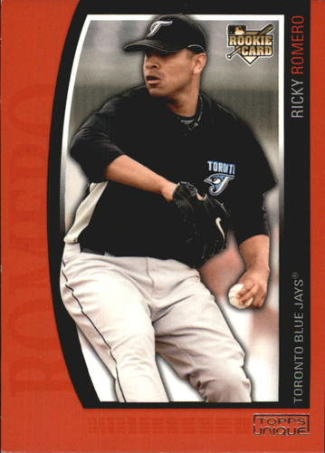 Photo of 2009 Topps Unique Red #178 Ricky Romero