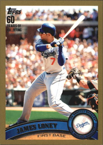 Photo of 2011 Topps Gold #305 James Loney