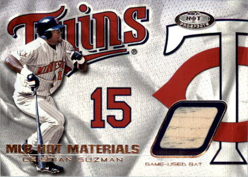 Photo of 2002 Hot Prospects MLB Hot Materials #CG Cristian Guzman Bat SP/261