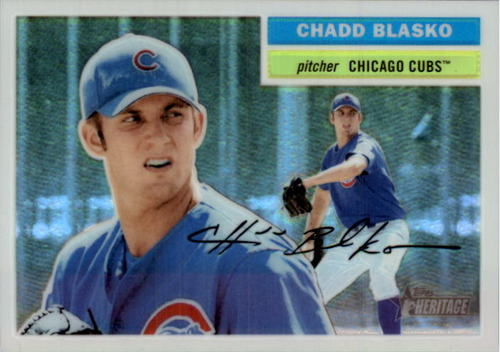 Photo of 2005 Topps Heritage Chrome #THC78 Chadd Blasko