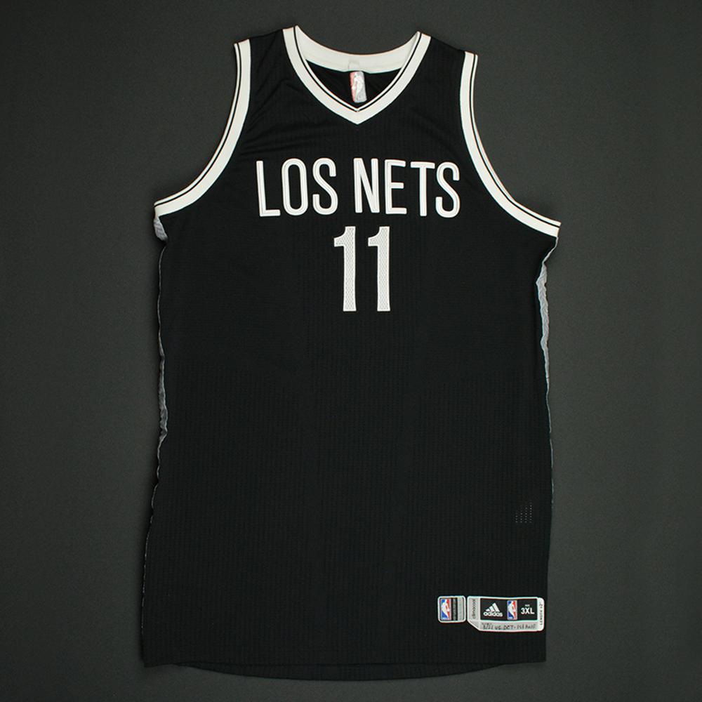 finest selection 8cb4f ff0ec lopez brooklyn nets jersey