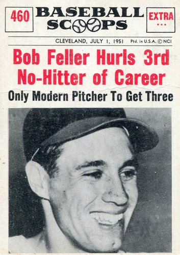 Photo of 1961 Nu-Card Scoops #460 Bob Feller-- Hall of Fame Class of 1962