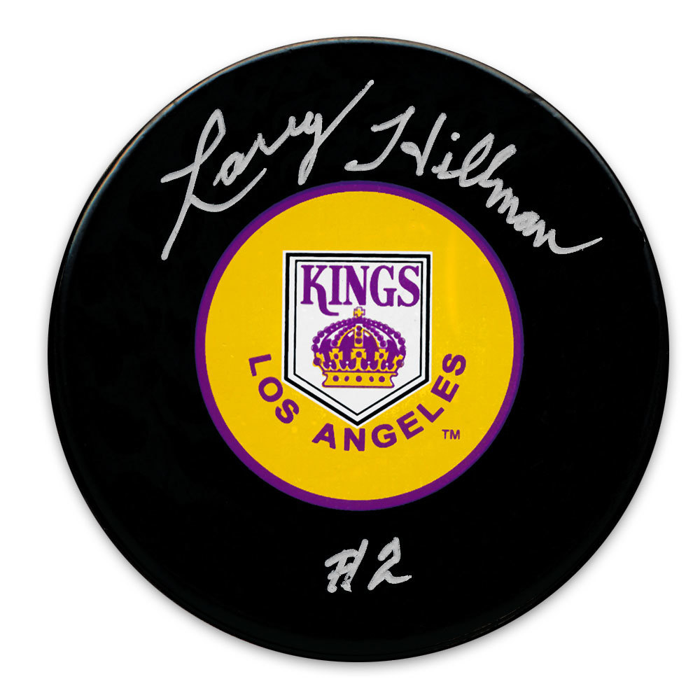 Larry Hillman Los Angeles Kings Autographed Puck