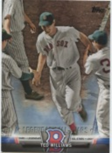 Photo of 2018 Topps Update Salute #S2 Ted Williams