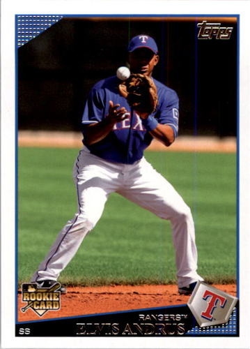 Photo of 2009 Topps #591 Elvis Andrus RC