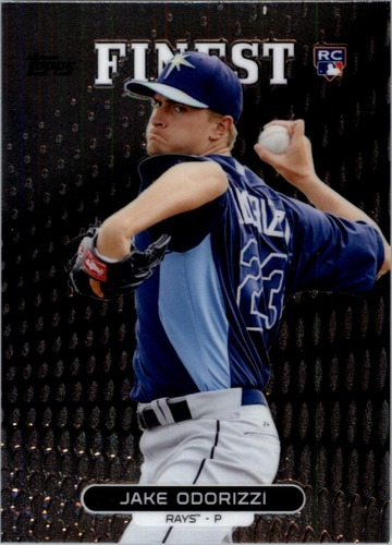 Photo of 2013 Finest #24 Jake Odorizzi Rookie Card