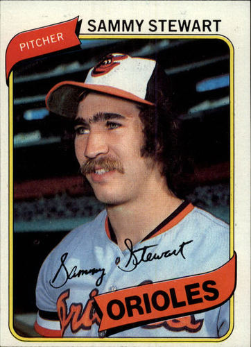 Photo of 1980 Topps #119 Sammy Stewart