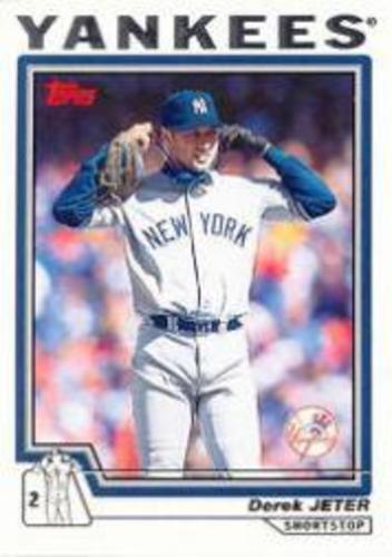 Photo of 2004 Topps #20 Derek Jeter