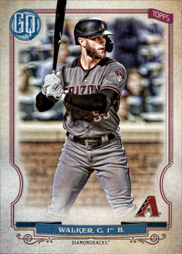 Photo of 2020 Topps Gypsy Queen #256 Christian Walker