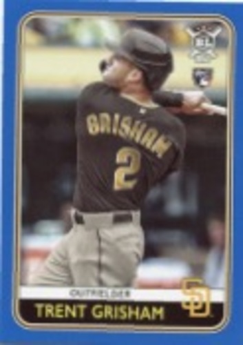 Photo of 2020 Topps Big League Blue #83 Trent Grisham