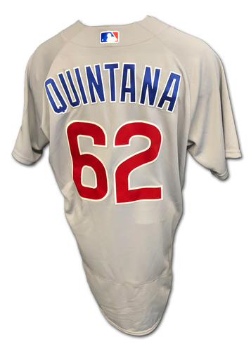 Photo of Jose Quintana Team-Issued Jersey -- 2020 Season -- Size 46T