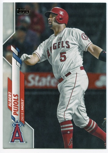 Photo of 2020 Topps #497 Albert Pujols