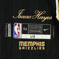 Jonas Valanciunas - Memphis Grizzlies - Game-Worn City Edition Jersey - Recorded a Double-Double - 2020-21 NBA Season