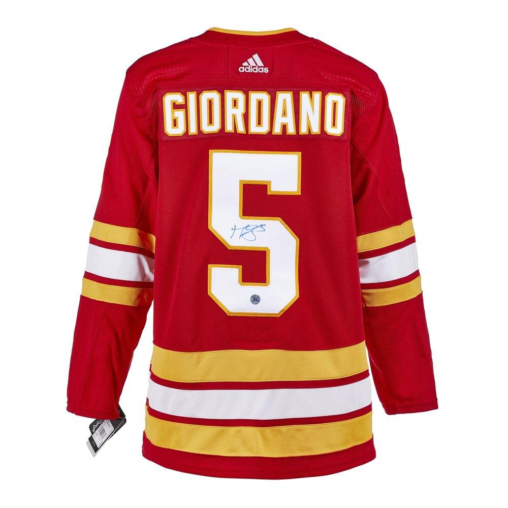 Mark Giordano Calgary Flames Autographed Adidas Jersey