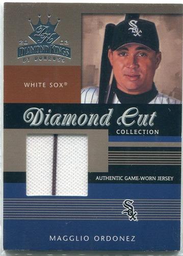 Photo of 2003 Diamond Kings Diamond Cut Collection #42 Magglio Ordonez Jsy/450
