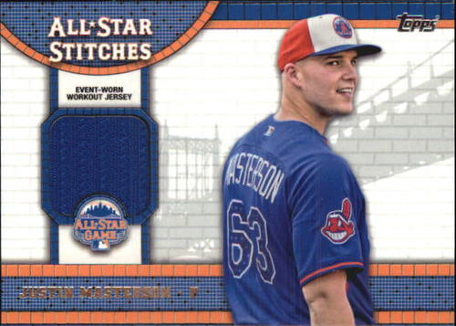 Photo of 2013 Topps Update All Star Stitches #JM Justin Masterson