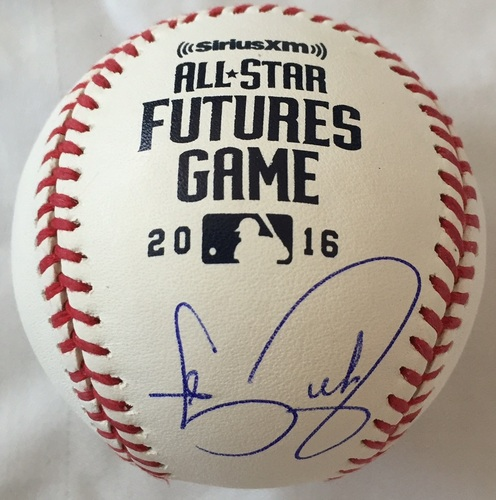 Photo of Carson Fulmer Autographed 2016 Futures Baseball