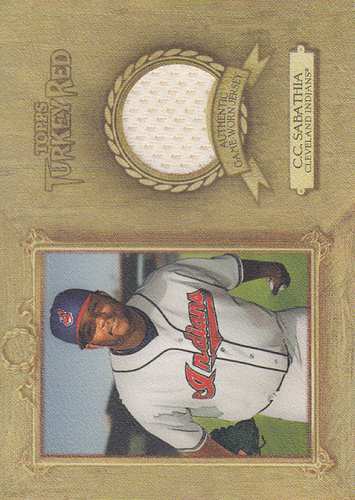 Photo of 2007 Topps Turkey Red Relics #CS C.C. Sabathia Jsy E