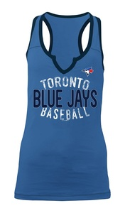 Toronto Blue Jays Women's Slub Racerback Tank by 5th & Ocean