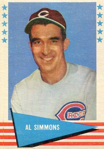 Photo of 1961 Fleer #77 Al Simmons -- Hall of Fame Class of 1953