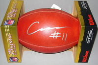 NFL - BRONCOS CARLOS HENDERSON SIGNED AUTHENTIC BALL