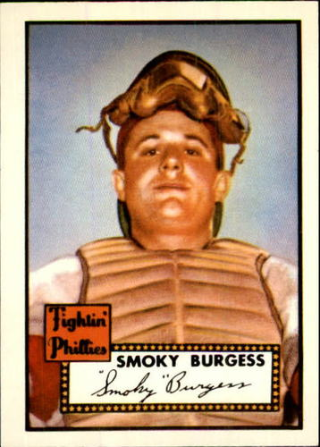 Photo of 1983 Topps 1952 Reprint #357 Smoky Burgess