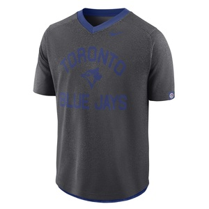 Toronto Blue Jays Flux V-Neck Heather T-Shirt by Nike
