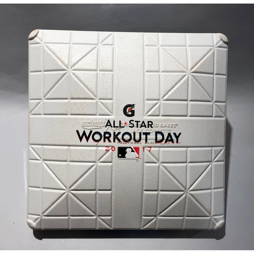 Photo of 2017 ASG Workout Day Used Base (Third Base)