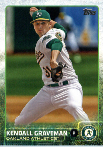 Photo of 2015 Topps Update #US89 Kendall Graveman
