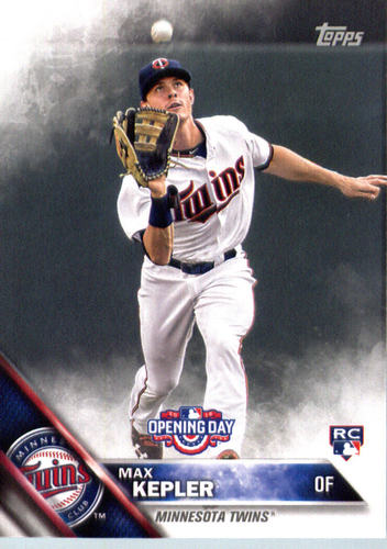 Photo of 2016 Topps Opening Day #OD43 Max Kepler Rookie Card