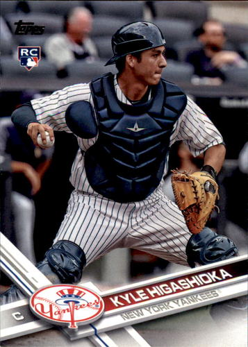Photo of 2017 Topps Update #US15 Kyle Higashioka RC