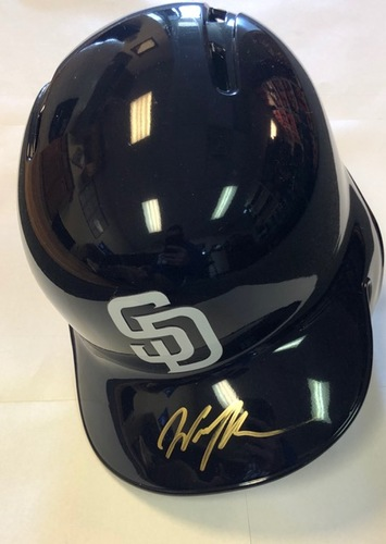 Photo of Wil Myers Autographed Padres Batting Helmet