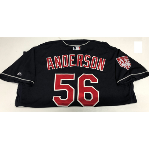 Photo of Cody Anderson 2019 Spring Training Jersey