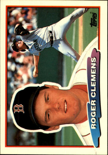 Photo of 1988 Topps Big #118 Roger Clemens