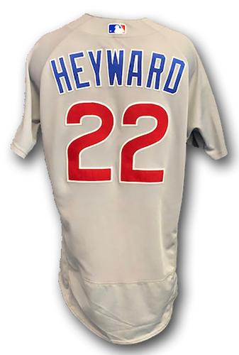 Photo of Jason Heyward Team-Issued Jersey -- 2019 Season -- Size 44