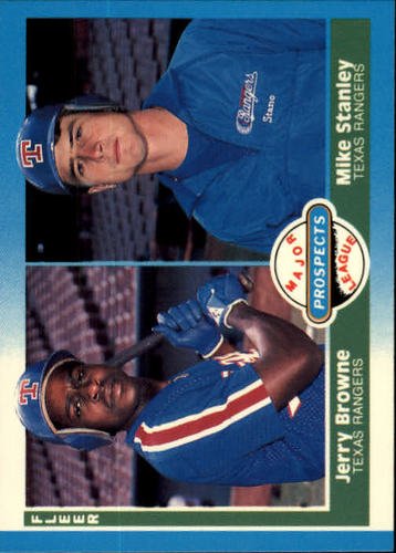 Photo of 1987 Fleer #647 Mike Stanley RC/Jerry Browne RC