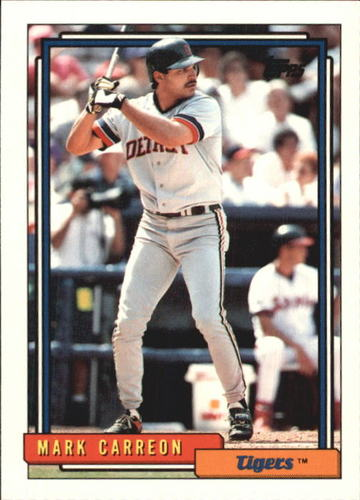 Photo of 1992 Topps Traded #21T Mark Carreon
