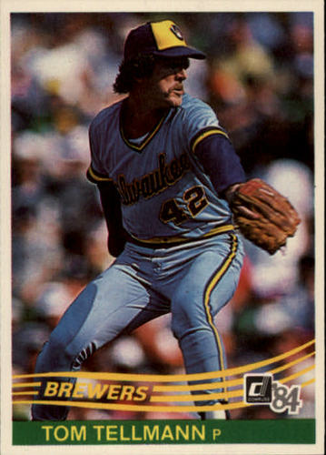 Photo of 1984 Donruss #149 Tom Tellmann