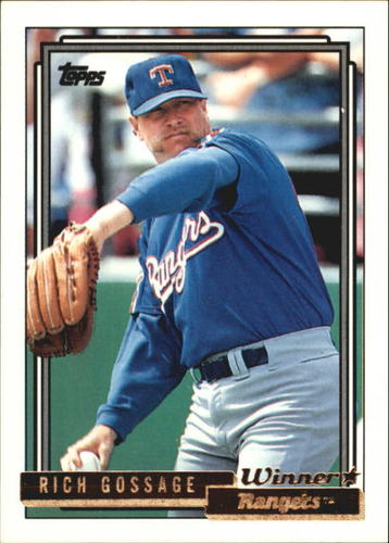Photo of 1992 Topps Gold Winners #215 Rich Gossage