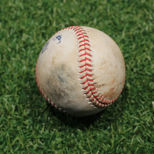 Photo of Game-Used Baseball: Joe Jimenez 198th Career Strikeout (9/26/20 DET @ KC)
