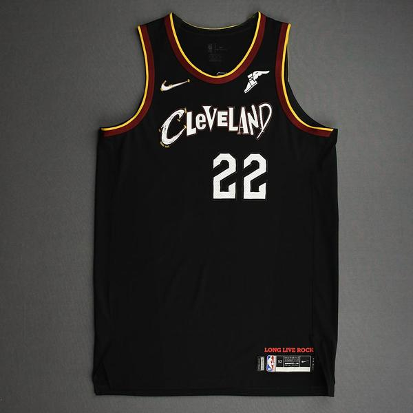 Image of Larry Nance Jr. - Cleveland Cavaliers - Game-Issued City Edition Jersey - 2020-21 NBA Season