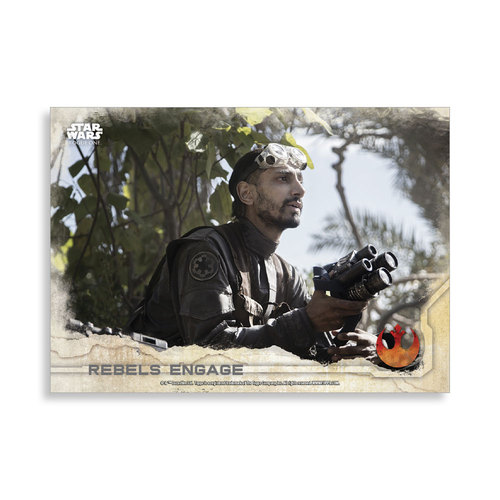 Rebels Engage 2016 Star Wars Rogue One Series One Base Poster - # to 99