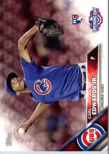 Photo of 2016 Topps Opening Day #OD46 Carl Edwards Jr. RC