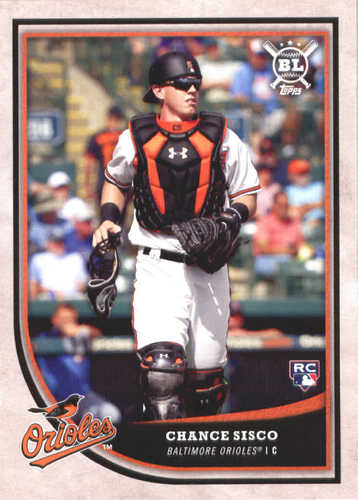 Photo of 2018 Topps Big League #165 Chance Sisco RC