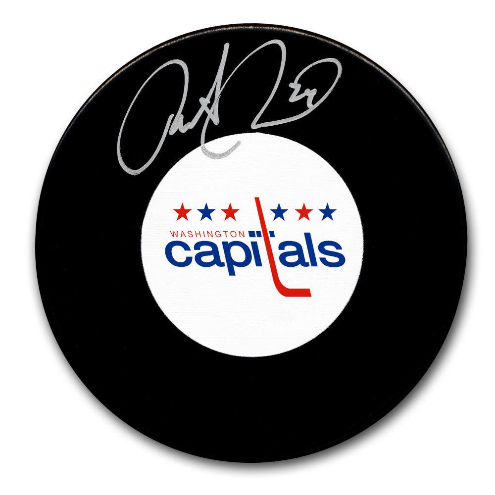 Robert Picard Washington Capitals Autographed Puck