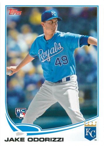 Photo of 2013 Topps #232 Jake Odorizzi Rookie Card