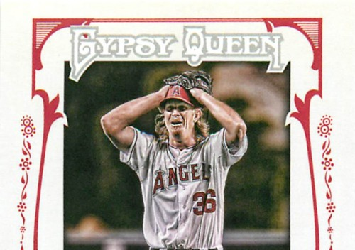 Photo of 2013 Topps Gypsy Queen No Hitters #JW Jered Weaver