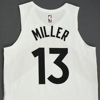 Malcolm Miller - Toronto Raptors - 2018-19 Season - Game-Worn White City Edition Jersey